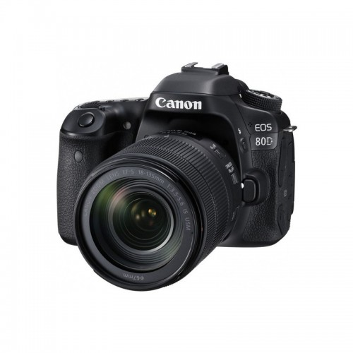 CANON CAMARA EOS 80D KIT 18-135MM EF-S IS STM
